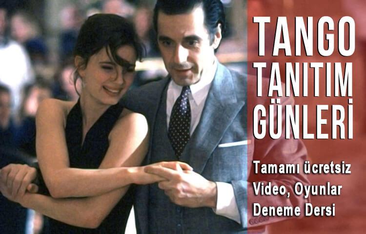 Tango Kursu 2018 Kasım Tanıtım Günleri