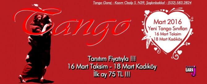 Tango Kursu Mart