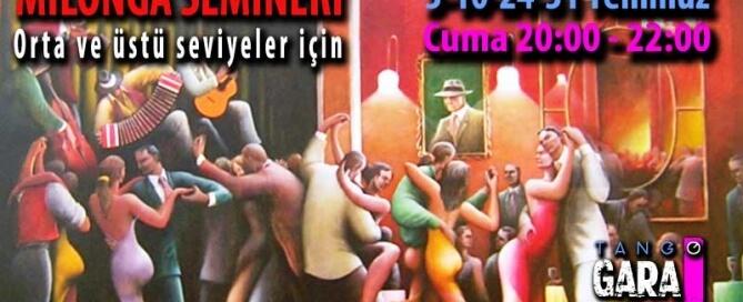 En neşeli dansı öğrenmek için Milonga Seminerleri