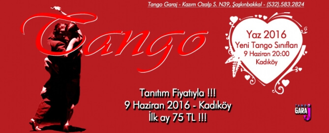 Yaz Tango Kursu