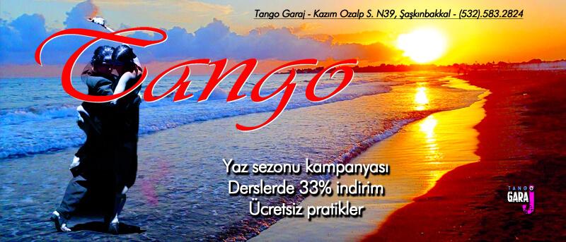 Tango Kursu Yaz Sezonu