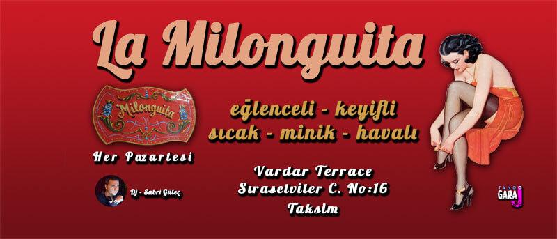 Taksim Tango Geceleri, Dersi ve Milongalar