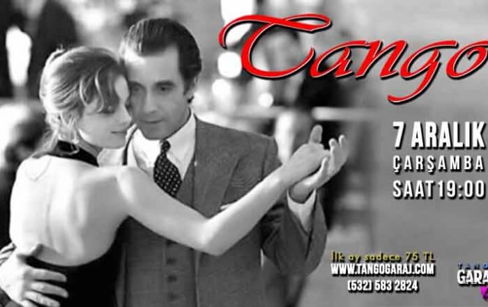 Tango Kursu Aralık Hafta İçi
