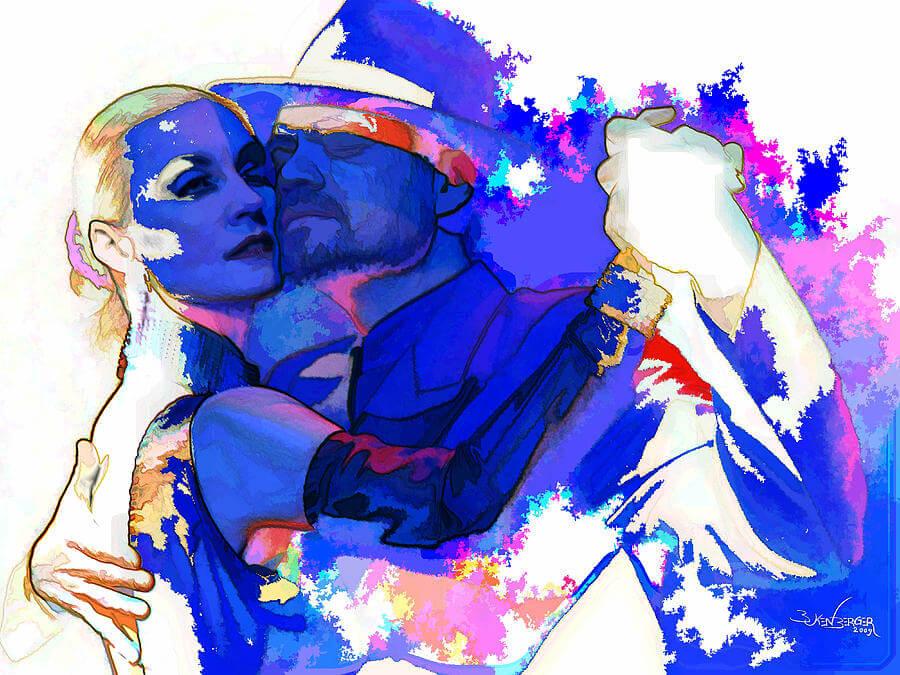 Arjantin Tango size en keyfili dansı sunar